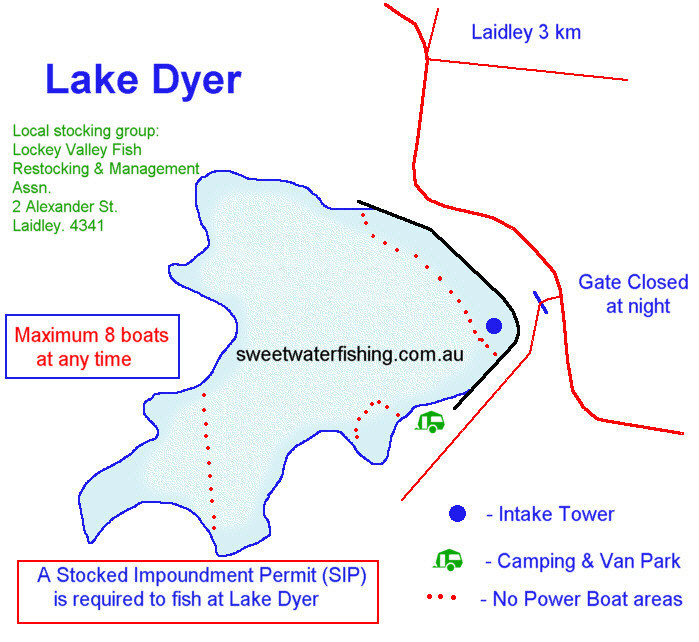 Click here for Lake Dyer Map